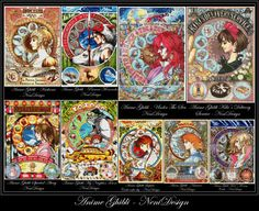 Anime Ghibli  large package  18 aida count  cross by NeniDesign