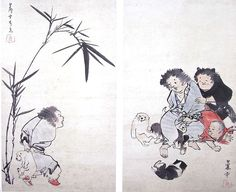 長澤蘆雪(1754-1799)