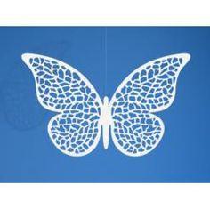 Dekoracje papierowe Motyl, 6,5 x 4cm, 50 op.