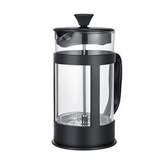 BonJour Coffee Stainless Steel French Press with Glass Carafe 50 7