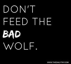 The bad wolf.