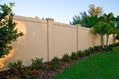 Concrete block or Precast Concrete Fence Walls for the United States by Permacast from Sarasota, Florida - Modern Design