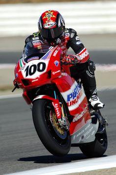 Neil Hodgson - 2005 Ducati 999s, Ducati Superbike, Motorcycle Racers, Racing Motorcycles, Cycling Art, Super Bikes, Road Racing, Motorbikes, Pilot