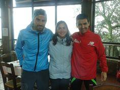 Manuel Mª, Andrés y la muchacha