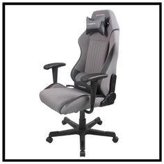 DXRACER DA01GN-Gray and Black rocker chair office chair gaming chair