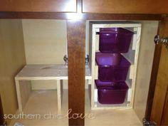 55 Best Under The Sink Organizing Images Kitchen Storage Kitchen