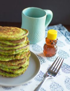 8. Spinach Pancakes #pancakes #healthy #recipes # http://greatist.com/eat/pancake-recipes-for-any-time