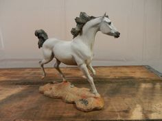 Danbury Mint ARABIAN Horse Figurine Noble Steeds Collection Horse Figure by WesternKyRustic on Etsy