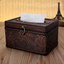 New Wooden Brown Rectangular Elegant Distinctive Decor Paper Tissue Box Holder Tissue Paper Holder, Tissue Box Covers, Tissue Boxes, Wooden Projects, Diy Projects, Box Shelves, Decoupage Box, Timeless Design, Storage Chest
