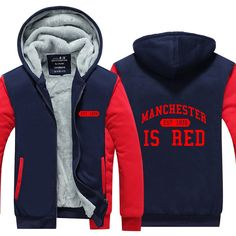 0df2dbaa2 Manchester Is Red Winter Jacket Price   64.06  amp  FREE Shipping WORLDWIDE.