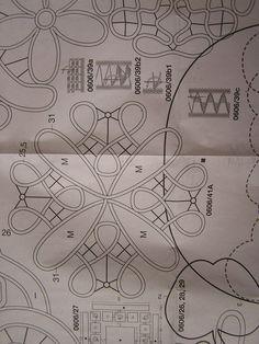 RPL pattern Румынское кружево Romanian point lace pattern