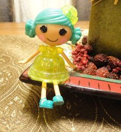 """Mini Lalaloopsy Jelly Jiggle Wiggle 3"""" doll (#4 of Series 8) Used for Display  #Dolls"""