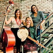 The Swayback Sisters are an Asheville supergroup, comprised of three women who have made their marks on the regional music scene through numerous solo projects and collaborations.