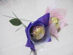 Rocher Creations: 1 Ferrero Rocher Flower - $2
