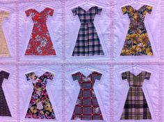 Dressing the Part by Renee Newstrum-at the NW Quilting expo. Love this!