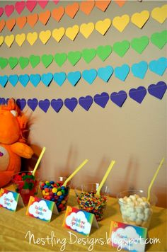 Nestling: Care Bear Party, part 1