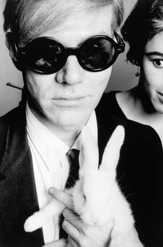 Andy Warhol and Bunny