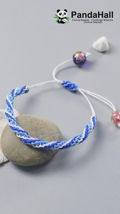 Diy Crafts Jewelry, Diy Crafts For Gifts, Bracelet Crafts, Diy Bracelet Designs, Diy Jewelry Videos, Beaded Crafts, Diy Bracelets Video, Braided Bracelets, Knotted Bracelet