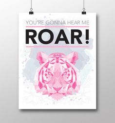 A personal favorite from my Etsy shop https://www.etsy.com/listing/275333570/katy-perry-youre-gonna-hear-me-roar