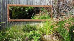 How to make garden mirror