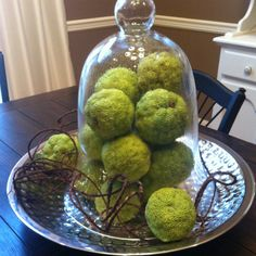 Hedgeapple centerpiece!