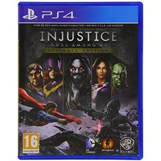 Injustice: Gods Among Us Ultimate Edition >>> More info could be found at the image url. (This is an affiliate link) #VideoGames