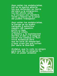 Himno del Partido Andalucista