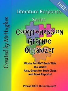 FREE Two Page Graphic Oranganizer to help students make connections, think about what the author is saying, draw pictures of the story, etc. Classroom tested, student approved!