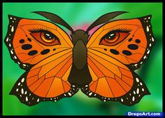 How to Draw a Butterfly Tattoo, Step by Step, Tattoos, Pop Culture ...