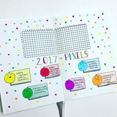 """995 Likes, 25 Comments - ✨Alexandra✨ (@alexandra_plans) on Instagram: """"I loved the idea of having a mood tracker for the whole year. I was seriously inspired by the…"""""""