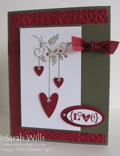 Sweet Summer Hearts by willsygirl - Cards and Paper Crafts at Splitcoaststampers