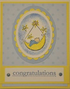 Congratualtions Baby by simplyscrappin16 - Cards and Paper Crafts at Splitcoaststampers