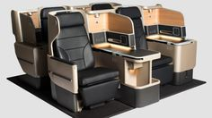 New Business Class seat: wider, more comfortable and better thought-out.
