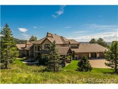 1.8 mil on 7 acres outside of Castle Pines.  A true Castle Rock CO Luxury Home!