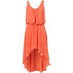 **Asymmetric Midi Dress by Love via Polyvore