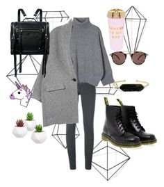 """Без названия #13"" by ladyanyainny on Polyvore featuring мода, Umbra, Givenchy, Dr. Martens, Isabel Marant, McQ by Alexander McQueen, ban.do, Oliver Peoples и BaubleBar"