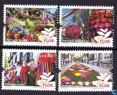Postage Stamps - Madeira - Bloemenfestival Madeira