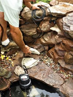 How to Buld a Pond - Build Your Own Backyard Pond - Popular Mechanics