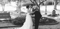 First Look in Raleigh - Brett & Jessica Photography - NC Wedding Planner - Orangerie Events