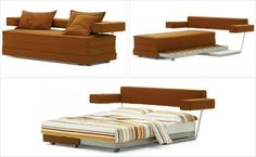 Sofa bed. This would be perfect for my upstairs.