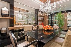 Salas de jantar-50 modelos maravilhosos e dicas de como decorar! - Decor Salteado - Blog de Decoração e Arquitetura