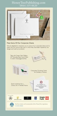 We are privileged to have worked with a wide spectrum of corporate clients fulfilling their stationery needs in a creative and responsive way. We are delighted to introduce you to some of them here and to share with you some of the ways in which they have been inspired by our designs and used our products. Corporate Letterheads, Corporate Christmas Cards, Corporate Invitations, Corporate Tags,  Business Cards, Corporate Notelets all available to #CreateABuzz