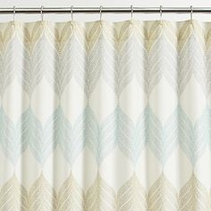 Love the colors in this shower curtain #CrateHoliday #Sweepstakes