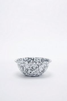 Enamel Splatter Bowl in Grey - Urban Outfitters