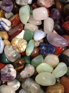 Crystals And Gemstones, Stones And Crystals, Crystal Aesthetic, Stone Wallpaper, Retro Poster, Cool Rocks, Crystal Meanings, Crystal Shop, Tumbled Stones
