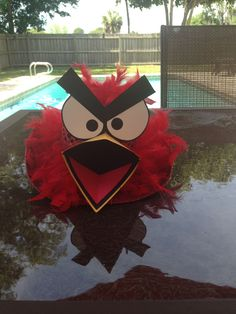 Angry Bird Hat for Easter Hat Parade