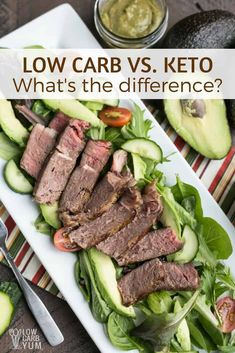 Low Carb Vegetables Chart