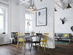 Scandinavian Loft in Prague by Denis Krasikov   Design +