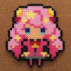 SHOW BY ROCK!! ぷちびっとストラップコレクション perler beads by tsubasa.yamashita fuse beads hama beads nabbi beads nano beads perler beads アイロンビーズ 拼豆 拼拼豆豆
