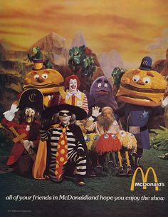 All Of Your Friends In McDonaldland Hope You Enjoy The Show    The very last…